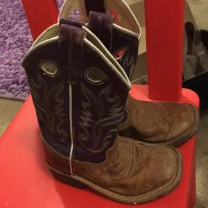 Other - Purple cowboy boots